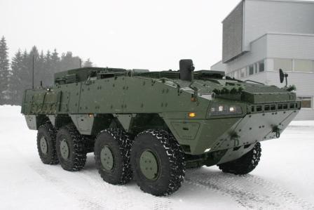 Patria AMV Вс Швеции (c) www.patria.fi