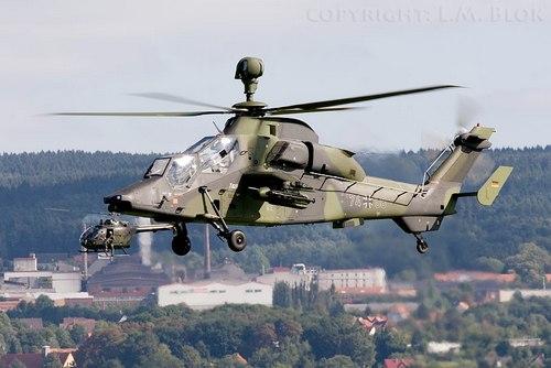 Ударный вертлет Tiger ВВС Германии (c) fencecheck.com
