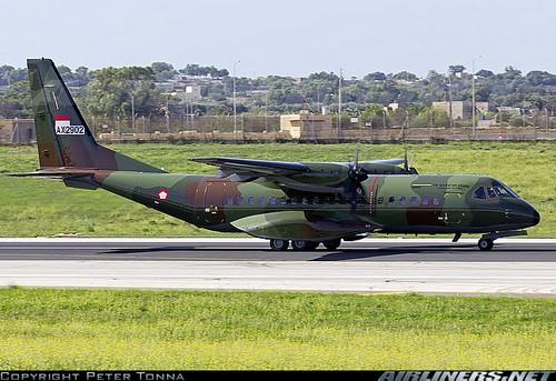 C295 индонезийских ВВС (c) Peter Tonna
