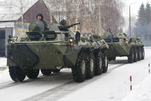 БТР-80 ВС Украины (c) vk.com/mil_in_ua