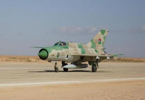 МиГ-21 ВВС Сирии