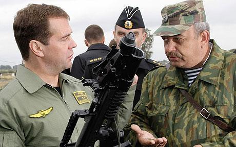 Д.А. Медведев (c) AFP