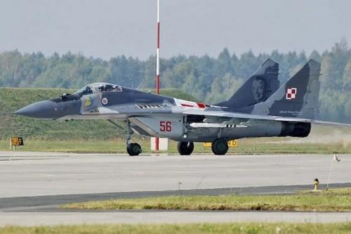 МиГ-29 ВВС Польщи (c) Jacek Borzyszkowski