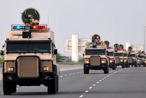 Саудовские войска в Бахрейне (c) ikhras.com