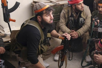 Боевики из Чечни воюют против сирийской армии