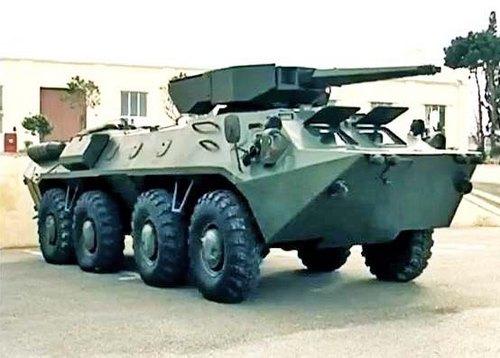 БТР-70М с боевым модулем Simsek