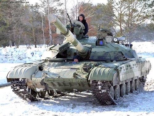 Танк Т-64БМ Булат ВС Украины
