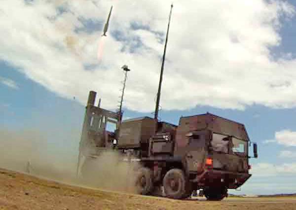 ЗРК IRIS-T SLM (c) Diehl BGT Defense
