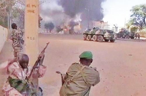 Сражение в Мали