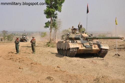 Type-59D ВС Мьянмы (c) militaryphotos.net