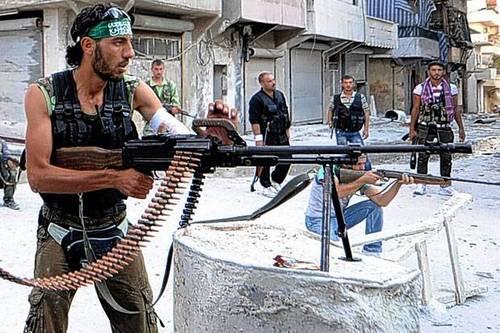 Повстанцы в Сирии (c) standard.co.uk