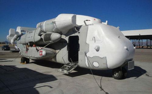 Пять списанных из состава ВС США CH-53