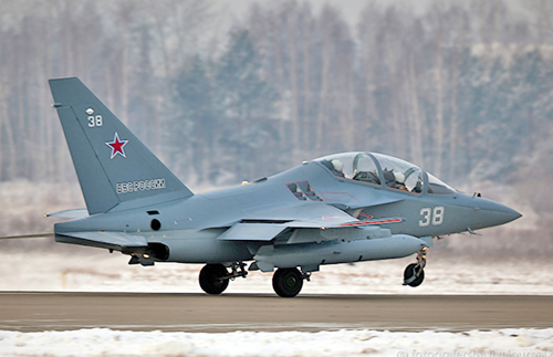 УБС Як-130 (c) Марина Лысцева