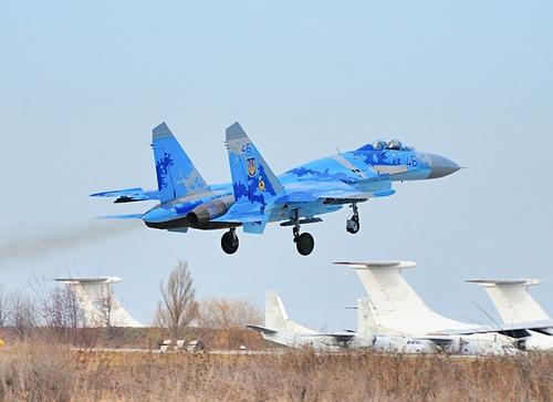 Су-27 ВС Украины (c) Galanski Dmitrii spotters.net.ua