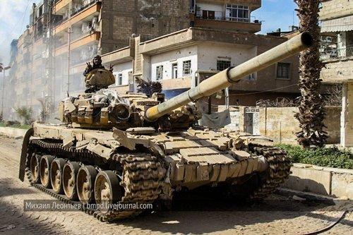 Т-72 ВС Сирии