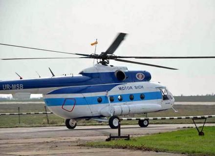 Испытания вертолета Ми-8МСБ
