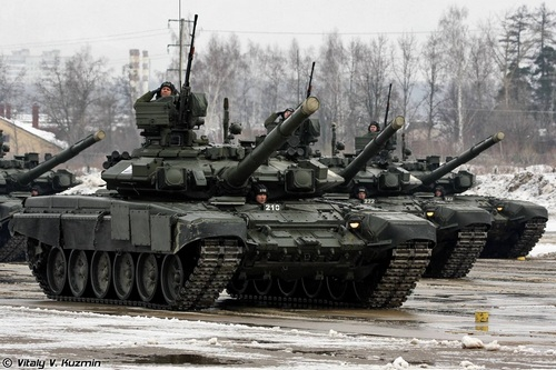 Т-90 фото: Виталий Кузьмин