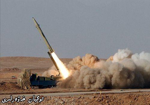 военные испытания новых ракет класса «Назеат-10»