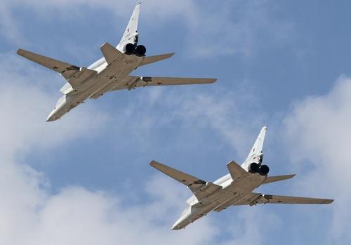 Российские бомбардировщики Ту-22М3