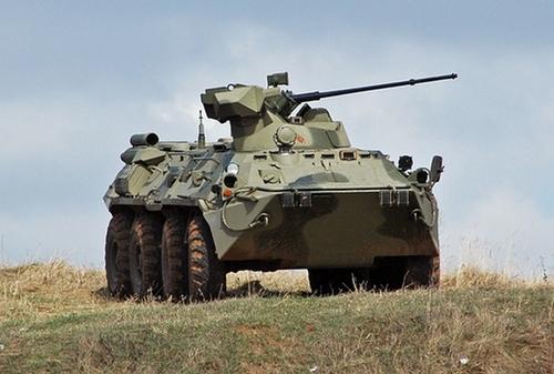 Бронетранспортер БТР-82 АМ