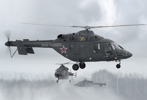 Ансат-У (c) russianhelicopters.aero