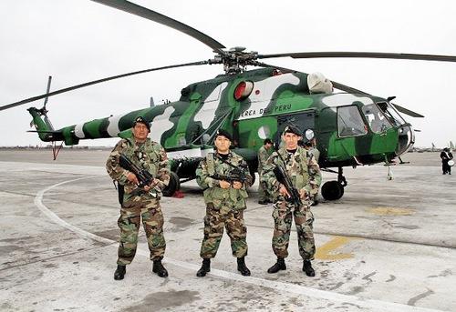 Ми-171Ш (c) министерство обороны Перу