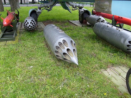 орудийный блок Б-8М1 для пуска НАР С-8