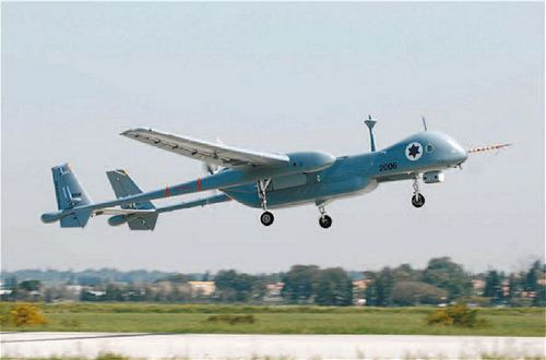 БПЛА Heron ВВС Израиля