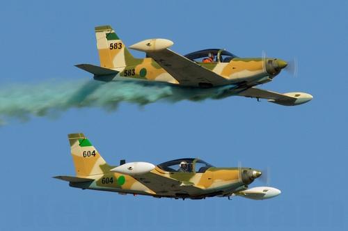 УТС SF-260 ВВС Ливии