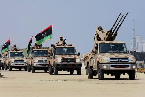 Военные ВС Ливии