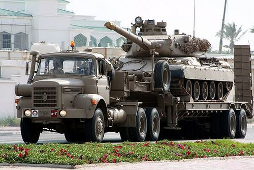 Танк AMX-30B2 ВС Катара