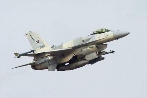 F-16 Desert Falcon