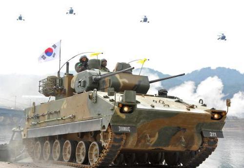 Учения ВС Южной Кореи