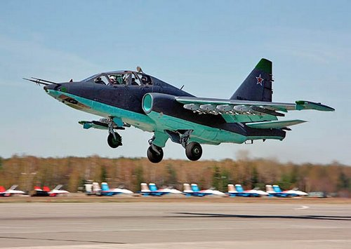 Самолет Су-25УБМ