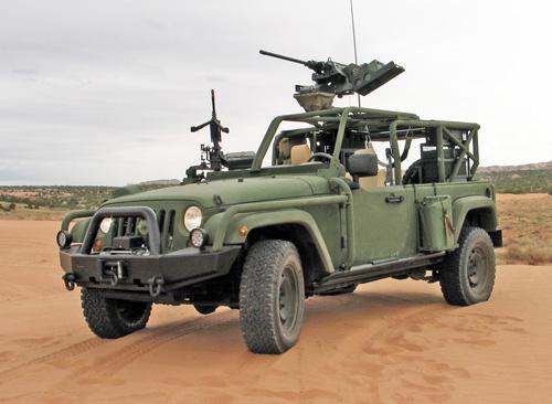 Jeep J8 для проведения испытаний
