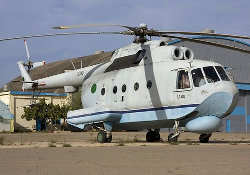 Ми-14 ВВС Ливии (c) pixstel.com
