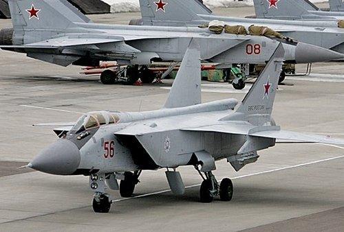 МиГ-31 ВВС США (c) polit.ru