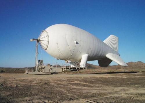 аэростат с аппаратурой наблюдения