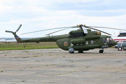 Ми-17 ВВС Азебайджана