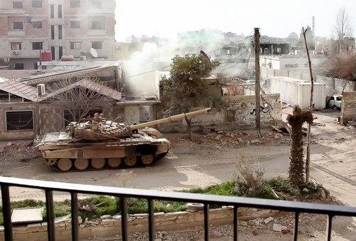 Операция в Дарайи, Сирия