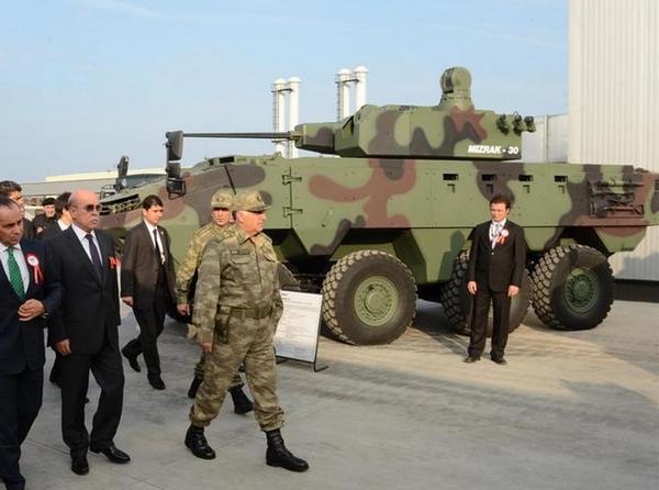 БТР Arma с боевым модулем Mizrak