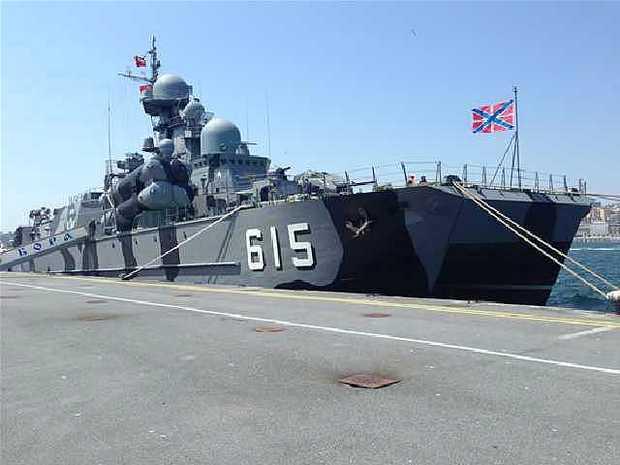 Ракетный корабль на воздушной подушке Бора (c) denizhaber.com.tr