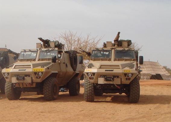 Бронеавтомобиль Bastion PATSAS ВС Чада