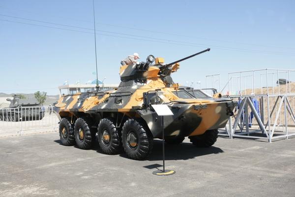 БТР-80 с боевым модулем GCTWM