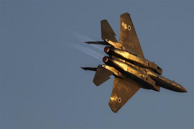 F-15 ВВС Израиля (c) msn.com