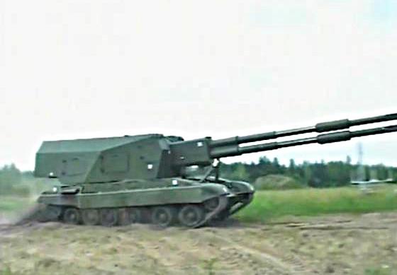 Артиллерийский комплекс Коалиция-СВ