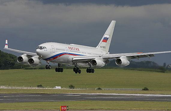 Ил-90-300 Специального летного отряда Россия