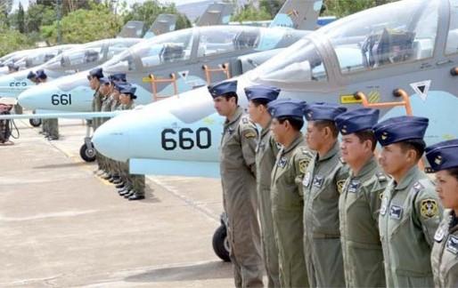 K-8 Karakorum ВС Боливии