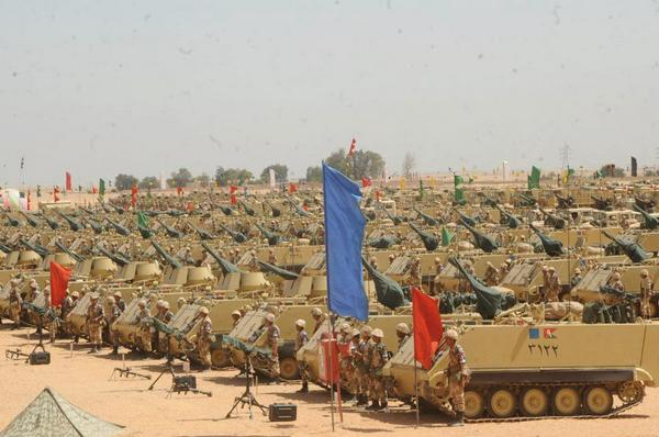 Египет перебрасывает на Синай танки