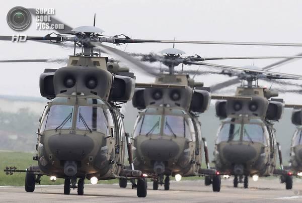 Первые серийные вертолеты KAI KUH-1 Surion
